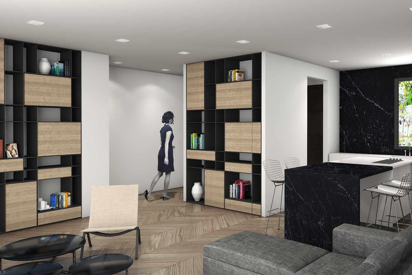 mers monts am nagement bear architectes agence architecture jeremy biermann. Black Bedroom Furniture Sets. Home Design Ideas